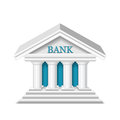 Bank vector Royalty Free Stock Photo