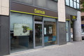 Bankia seville spain may a bank branch on may in seville spain must sell assets and close branches under the terms of a Royalty Free Stock Photo