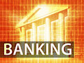 Banking illustration Stock Images