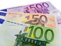 Banknotes - Euro Royalty Free Stock Photos