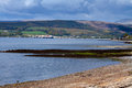 Banks Of Gare Loch Royalty Free Stock Photos