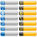 Banner buttons with web icons 6