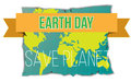 Banner day of the earth