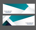 Banner design template material background