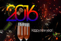 Banner 2016 Royalty Free Stock Photo