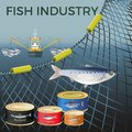 stock image of  Banner for marine products