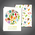 Banner on mexican theme. Vector illustration