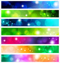 Banner set Royalty Free Stock Image