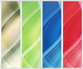Banner set of abstract background Stock Photo