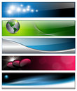 Banners, headers Royalty Free Stock Photography