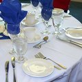 Banquet Table Formal Wedding Royalty Free Stock Photo