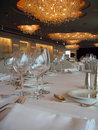 Banquet Tables 2 Royalty Free Stock Photography
