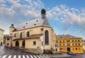 Banska Stiavnica, St. Katharine church, Slovakia