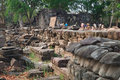 Banteay Chhmar Archaeological Site, Cambodia Royalty Free Stock Image