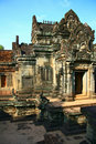 Banteay Samre,Angkor,Cambodia Royalty Free Stock Photo