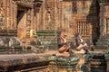 Banteay Srei in Siem Reap Royalty Free Stock Photo