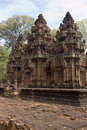 Banteay Srei Temple, Angkor, Cambodia Stock Photography