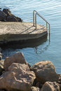 Baptism Site on the waterfront in Bulgaria Pomorie