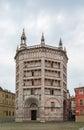 Baptistery of Parma, Italy Royalty Free Stock Photo
