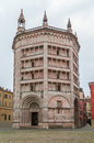 Baptistery of Parma, Italy Royalty Free Stock Photo