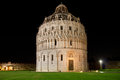 Baptistry in Pisa Royalty Free Stock Images