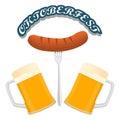 Bar banner Oktoberfest