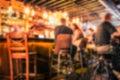 Bar Blur Royalty Free Stock Photo