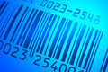 Bar code close up Stock Photo