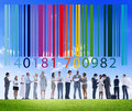 Bar Code Price Tag Merchandise Goods Concept Royalty Free Stock Photo