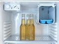 Bar fridge a shot of an open Royalty Free Stock Images