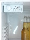Bar fridge a shot of an open Royalty Free Stock Photography