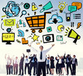 Bar Graph Analysis Achievement Improvement Strategy Success Conc Royalty Free Stock Photo
