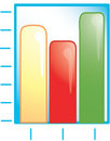 Bar graph Icon Royalty Free Stock Photos
