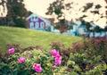 Bar Harbor Maine, coast area. Royalty Free Stock Photo