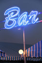 Bar light Royalty Free Stock Photography