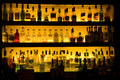 Bar liquor wine drinks decoration Royalty Free Stock Photo