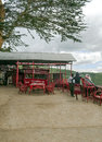 Bar in mountain on kenya picture taken may on a cloudy day Stock Images