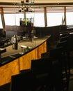 Bar in restaurant. Royalty Free Stock Photo