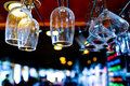 Bar scene this image of a was captured in carlsbad california Royalty Free Stock Photos