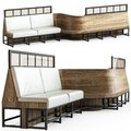 Bar sofa Royalty Free Stock Photo