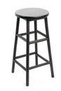 Bar stool isolated Royalty Free Stock Photo