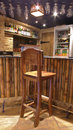 Bar stools. Royalty Free Stock Photo
