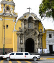 Baranco Lima Peru Church Royalty Free Stock Photo