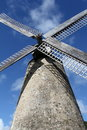 Barbados Sugar Windmill Royalty Free Stock Photography