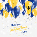 Barbados Vector Patriotic Poster. Independence.