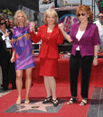 Barbara Walters,Joy Behar,The View Stock Photography