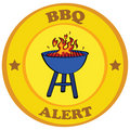 Barbecue alert Royalty Free Stock Photo