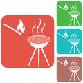 The barbecue icon