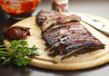 Barbecue Ribs Stock Photo