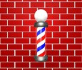 Barber Pole Stock Image